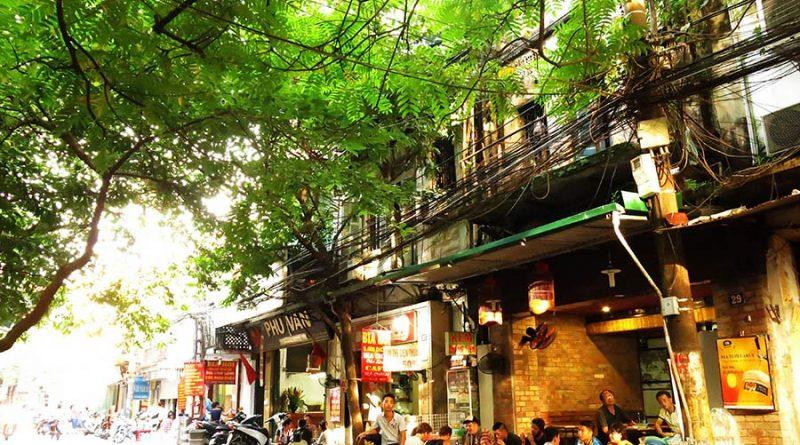 Một gióc phố cổ hà nội mùa hè