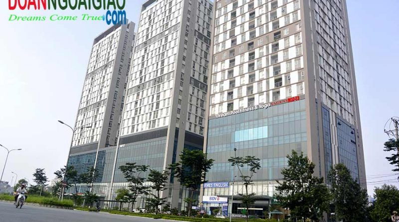 Chung cư Quang Minh Tower N02 T3 khu Đoàn Ngoại Giao Hà nội
