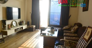 Sofa Phòng khách căn hộ 113,89m2 ctại tòa n02t1 Ngoại giao đoàn