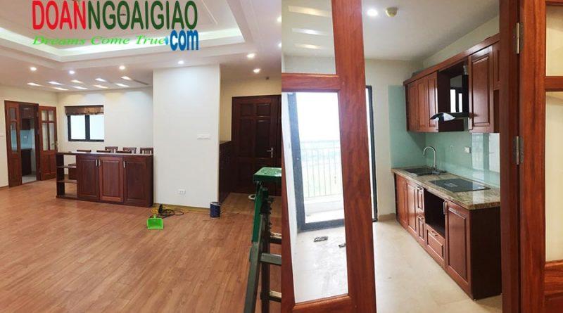Toàn cảnh căn hộ bán tại Phú Mỹ complex Ngoại giao đoàn