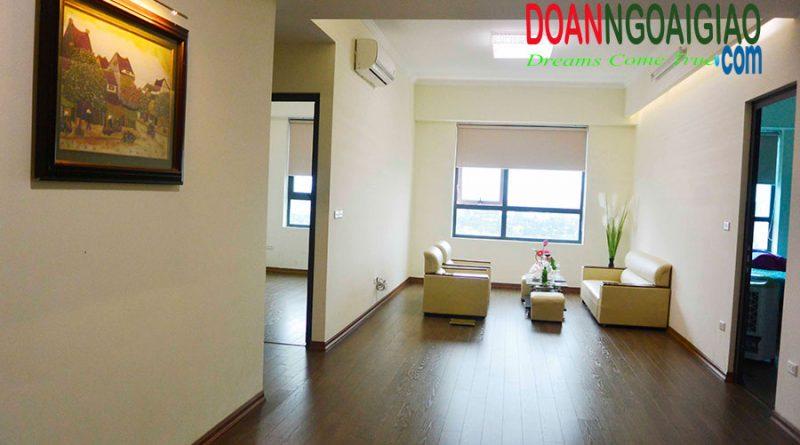 Cho thuê căn hộ đầy đủ nội thất tại N03T1 Ngoại giao đoàn giá 10tr